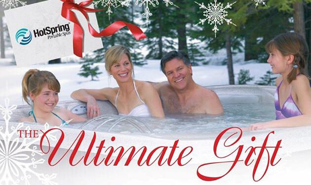 December Special at San Diego Hot Spring Spas
