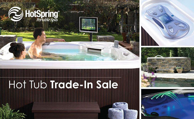 Hot tub trade in special at San Diego Hot Spring Spas