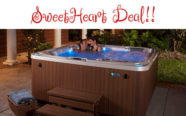 February Sweetheart Deal at San Diego Hot Spring Spas